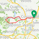 Map image of a Route from June 14, 2018