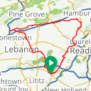 Map image of a Route from June 15, 2018