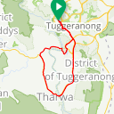 Map image of a Route from June 16, 2018