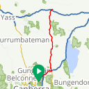 Map image of a Route from June 19, 2018