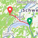 Map image of a Route from June 20, 2018