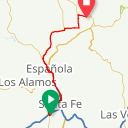 Map image of a Route from June 22, 2018