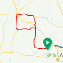 Map image of a Route from June 28, 2018