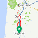 Map image of a Route from June 29, 2018