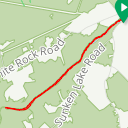 Map image of a Route from July  3, 2018