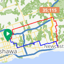 Map image of a Route from July  5, 2018
