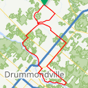 Map image of a Route from July  6, 2018
