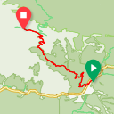 Map image of a Route from July 11, 2018