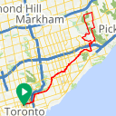 Map image of a Route from July 14, 2018