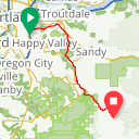 Map image of a Route from July 18, 2018