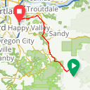 Map image of a Route from July 19, 2018