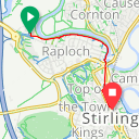 Map image of a Route from July 24, 2018