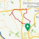 Map image of a Route from July 26, 2018