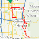Map image of a Route from August  6, 2018