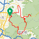 Map image of a Route from August 13, 2018