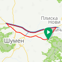 Map image of a Route from August 20, 2018
