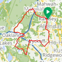 Map image of a Route from September  2, 2018