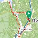 Map image of a Route from September  5, 2018