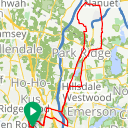 Map image of a Route from September  6, 2018