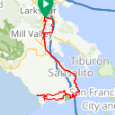 Map image of a Route from September 10, 2018