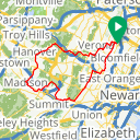 Map image of a Route from September 12, 2018