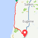 Map image of a Route from September 13, 2018