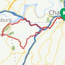 Map image of a Route from September 14, 2018