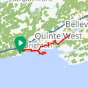 Map image of a Route from September 23, 2018