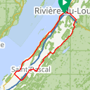 Map image of a Route from September 24, 2018