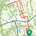 Map image of a Route from September 29, 2018