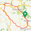 Map image of a Route from October  3, 2018