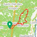 Map image of a Route from October  4, 2018