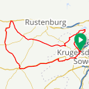 Map image of a Route from October  8, 2018