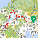 Map image of a Route from October 10, 2018