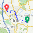 Map image of a Route from October 12, 2018