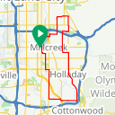 Map image of a Route from October 13, 2018