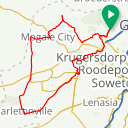 Map image of a Route from October 17, 2018