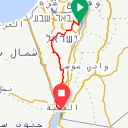 Map image of a Route from October 19, 2018