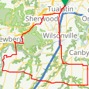 Map image of a Route from November  2, 2018