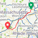 Map image of a Route from November  4, 2018