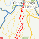 Map image of a Route from November 20, 2018