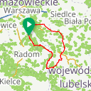 Map image of a Route from November 24, 2018