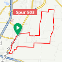 Map image of a Route from November 25, 2018