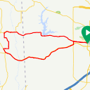 Map image of a Route from December 22, 2018