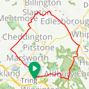 Map image of a Route from December 28, 2018