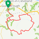 Map image of a Route from January 10, 2019