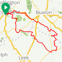 Map image of a Route from January 11, 2019
