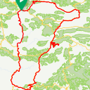 Map image of a Route from January 16, 2019