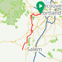 Map image of a Route from January 17, 2019