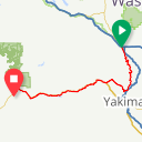 Map image of a Route from January 27, 2019